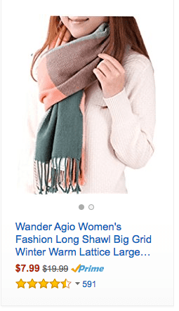 Under $10 Shipped – Womens Scarves and Wraps Deals (great gift idea)