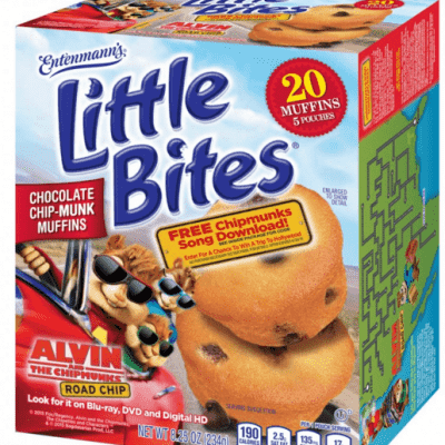 Entenmann's Little Bites & Alvin & the Chipmunks Prize Pack Giveaway and Review
