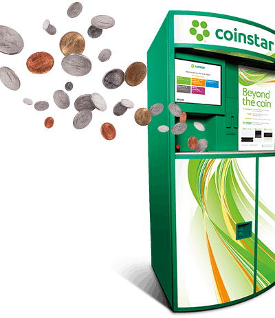 Coinstar – Free Coin Counting, Turn your coins into gift cards