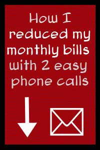 how to lower your monthly bills with phone calls
