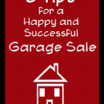 6 Tips for a Successful Garage Sale with info on Garage Sale Prices