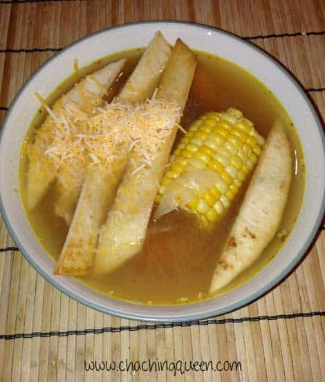 Easy Tortilla Soup Made With Leftovers -  Recipe