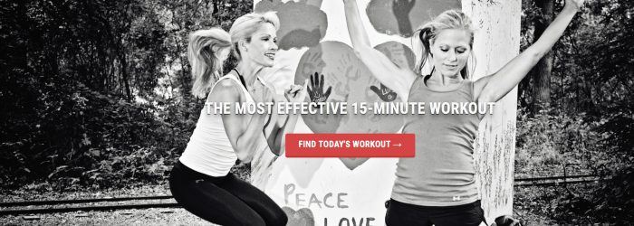 15-minute Digital Workouts from mashup