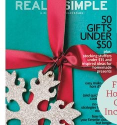Real Simple Magazine Subscription Deal - Buy One Get One Free