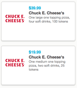 september 2014 chuck e cheese printable coupons tokens pizza drinks