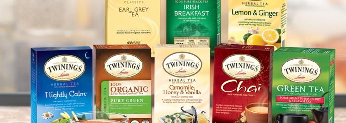 Free Sample - Twinnings Tea, 3 Free Tea Bags