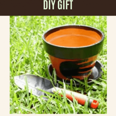 Decorated Flower Pots: DIY Gifts for Mom and Dad for Mother's Day, Father's Day, and more