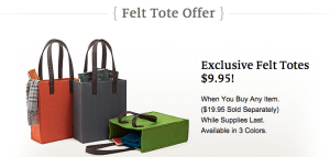 barnes and noble felt totes discount