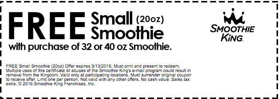 Smoothie King Employee Benefits. Benefits employees of Smoothie King can enjoy may vary by positions and locations. However, some of the basic benefits are available to most employees, like the employee discounts that are provided to all of the Smoothie King members.