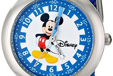 Deal on Disney Kids Time Teacher%22 Stainless Steel Watch