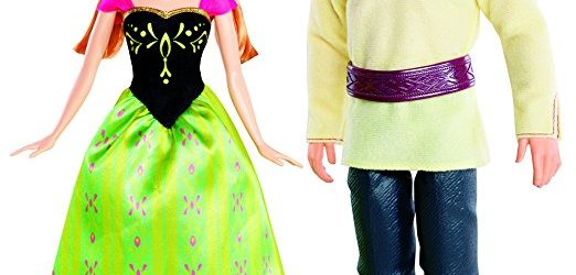 Disney Frozen Anna and Kristoff Doll, 2-Pack Amazon Deal