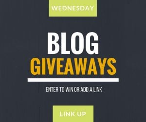 Wednesday Blog Giveaway Link Up - blue green yellow