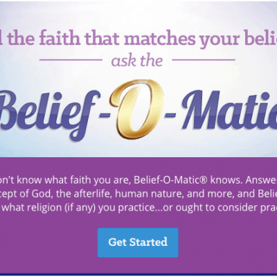 """What is your true religion? Take this Free Belief Quiz to answer your question, """"What Religion am I?"""""""