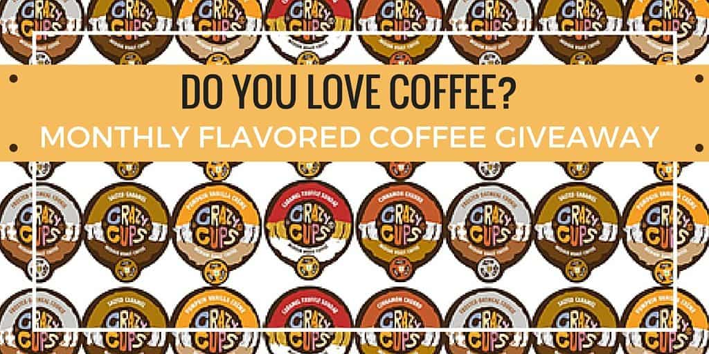 Do you love coffee? Monthly Coffee Giveaway - Enter to win a box of coffee k cups