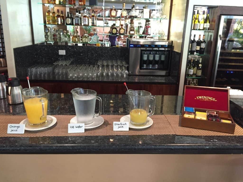 Jardin del Eden Boutique Hotel Review breakfast tea juice