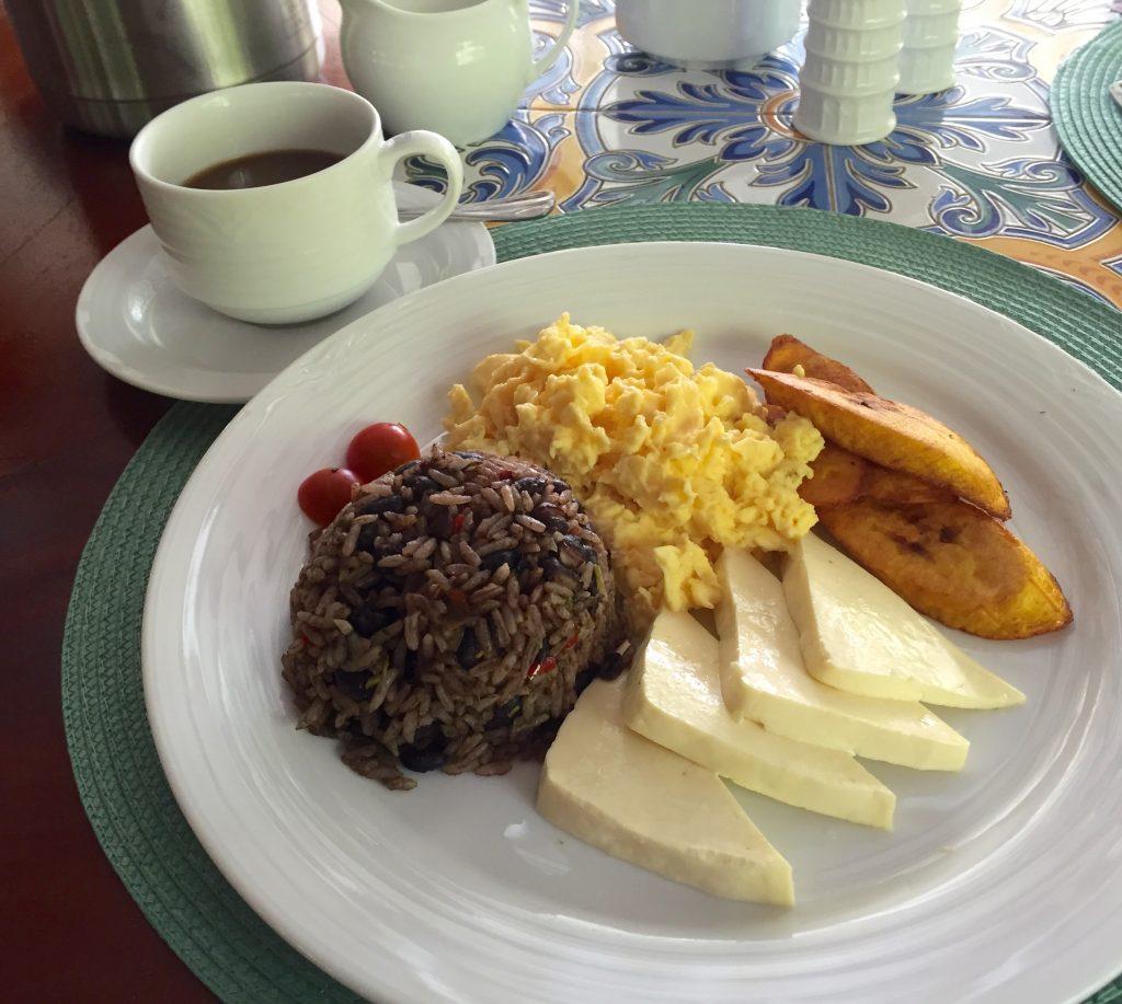 Jardin del Eden Boutique Hotel Review typical breakfast