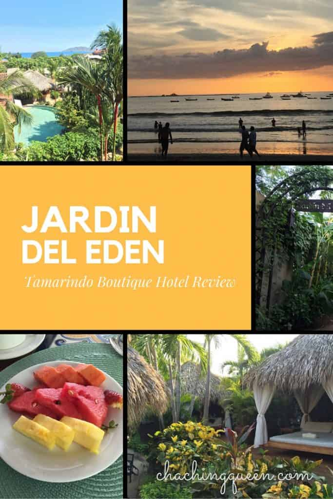 Jardin del eden boutique hotel review tamarindo costa rica for Boutique jardin