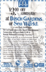 sea world printable coupon