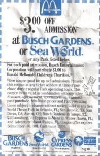sea world printable coupon