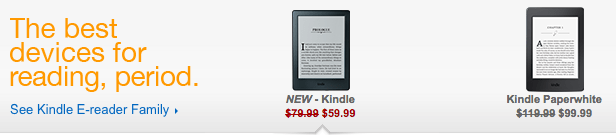 Amazon Deals on Kindles and Kindle Fire back to school savings