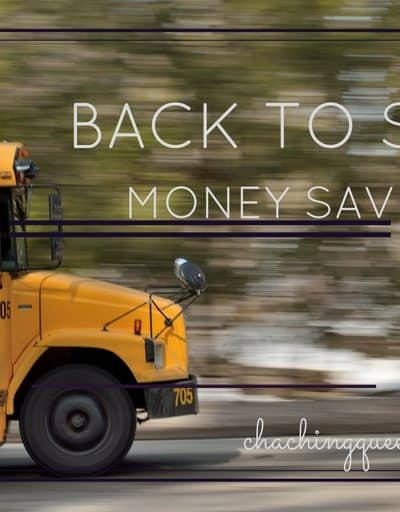 Back to School Money Saving Tips - healthy lunches, groceries, school supplies, school clothes, college