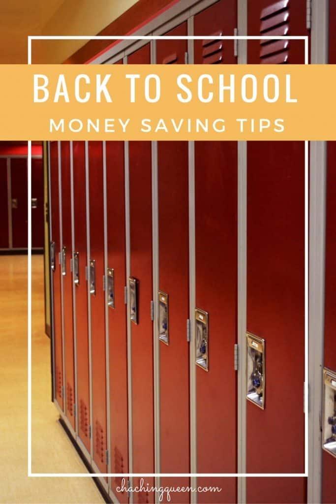 Back to School Savings - Money Saving Tips for Families