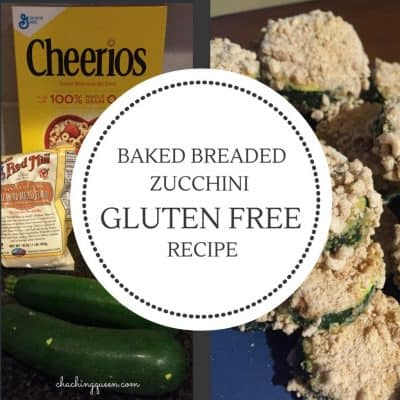 Baked Breaded Zucchini Recipe (Gluten Free Option)