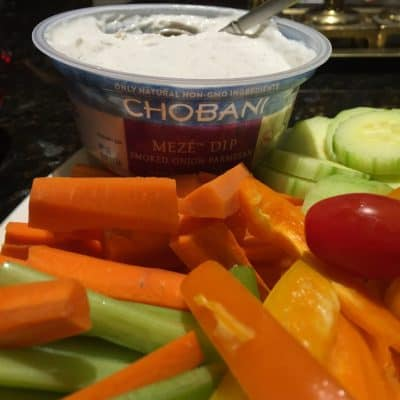 Chobani Meze Dips Review – Labor Day Ideas