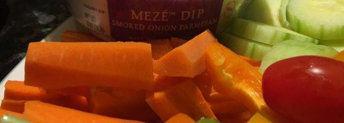 Chobani Meze Dips with vegetables
