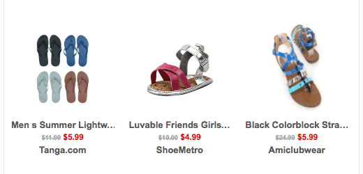 End of Summer Deals on Sandals for the Family