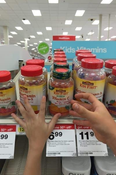 blog review Nature Made® KIDS FIRST® Vitamins at Target