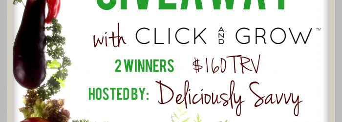 Giveaway: Click And Grow - Grow Your Own Indoor Garden Giveaway
