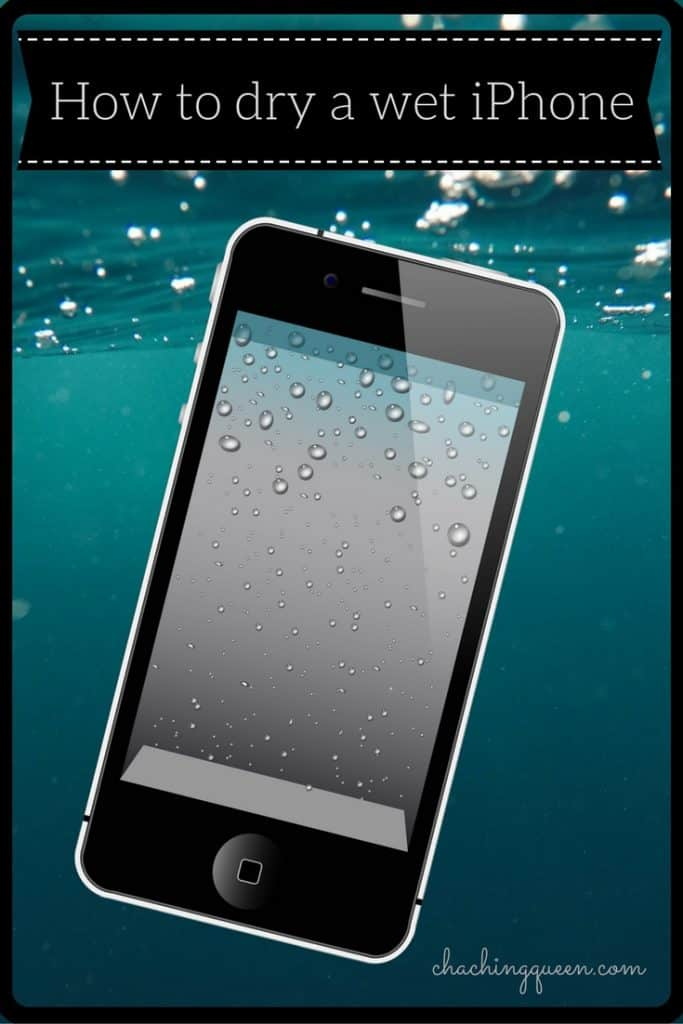 How to dry a wet iPhone