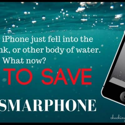 How to dry a wet iPhone or Save other Smartphones from Water Damage