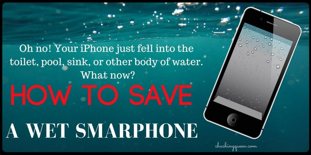 How to save a wet smartphone how to dry a wet iPhone