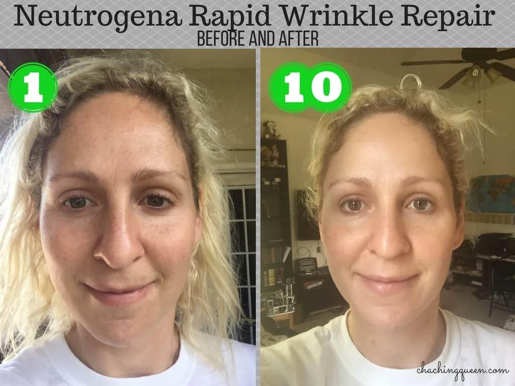 Neutrogena Rapid Wrinkle Repair with Anti-Aging Retinol - Photo Diary