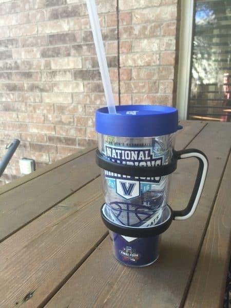 Villanova Wildcats™ 2016 NCAA Basketball Champions Wrap  custom Tervis tumblers  handle