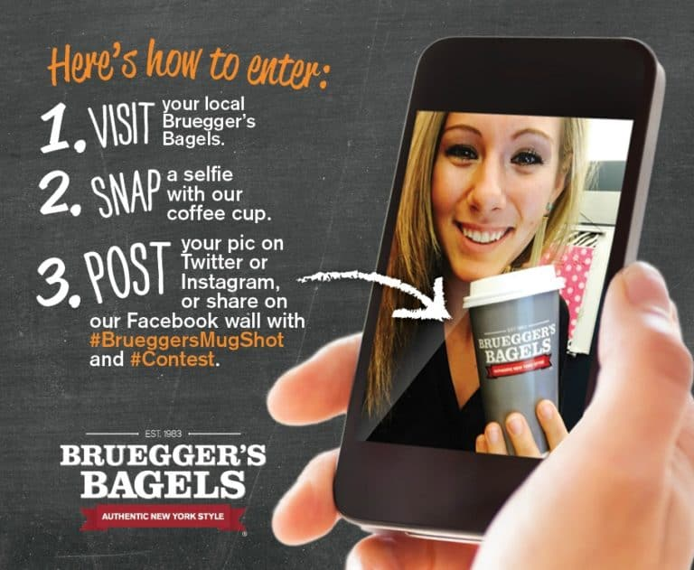 free coffee on coffee day - Brueggers win bottomless mug giveaway Coffee Day 2016