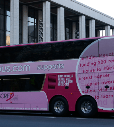 megabus-breast-cancer-awareness-bcrf-donation