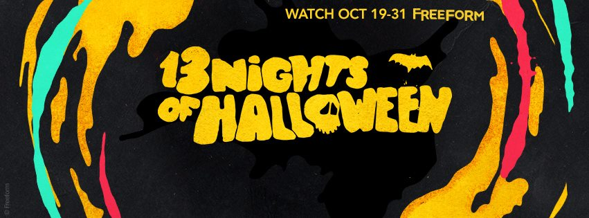 13 Nights of Halloween Movie Schedule ABC Family Channel / Freeform 2016