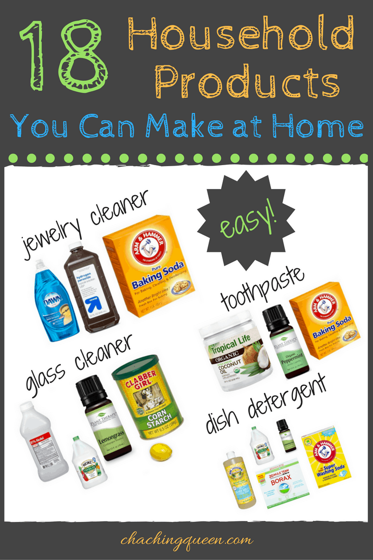18 diy homemade household products you can easily make at home for Products you can make at home