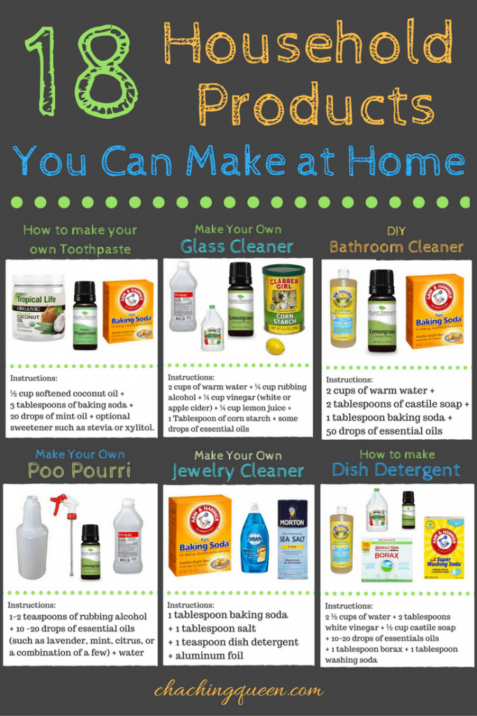 18 Household Products You Can Make at Home | DIY | Cleaning | Beauty | Homemade