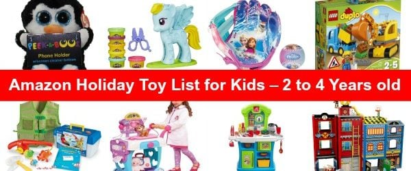 Amazon Gift Ideas - List of Toys for Toddlers 2 to 4 Years Old