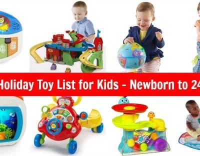 Amazon Gift Ideas – List of Toys for Babies Newborn to 24 Months