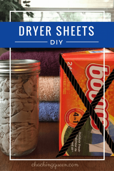 Dryer Sheets DIY - How to Make Your Own Reusable Fabric Softener Dryer Sheets
