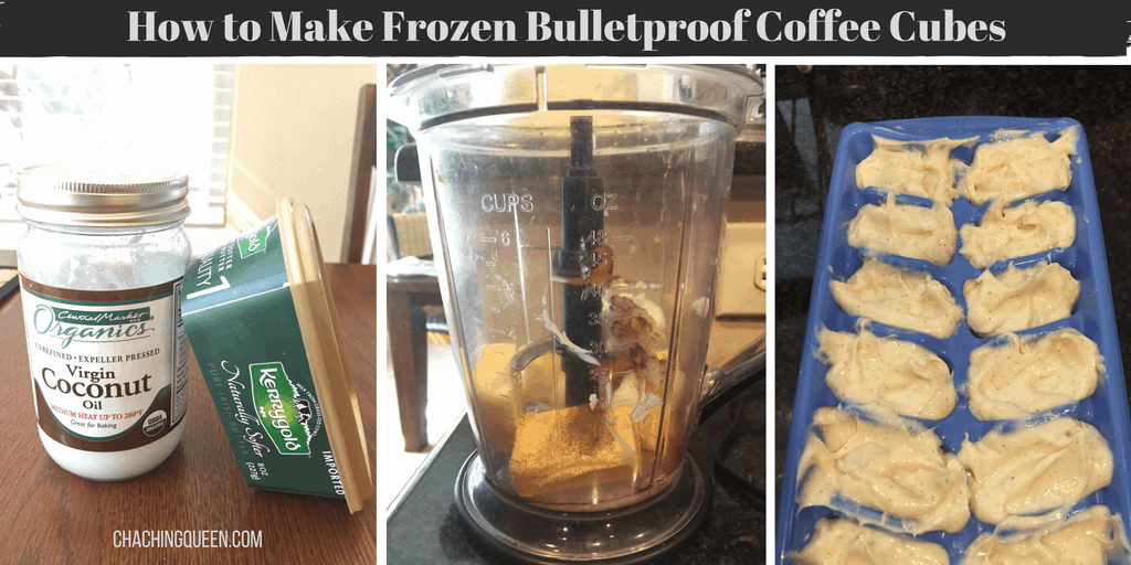 How to Make Frozen Bulletproof Coffee Cubes