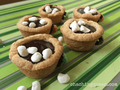 How to Make Mini Hot Chocolate Cookie Cups -Recipe