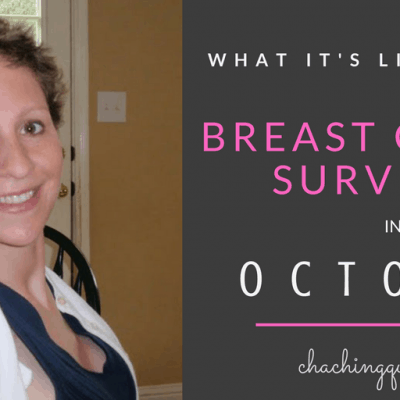 What it's like to be a Breast Cancer Survivor in October