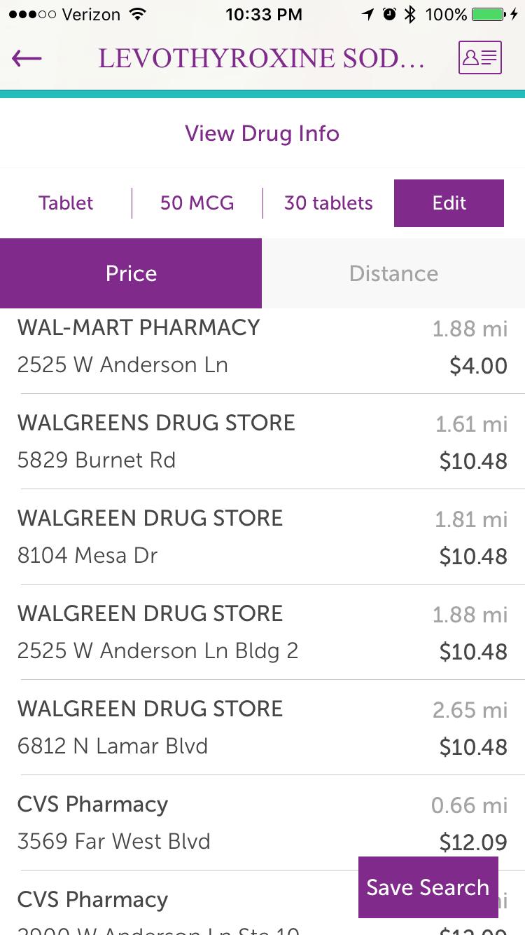 scriptsave wellrx for prescription medication savings cha ching queen