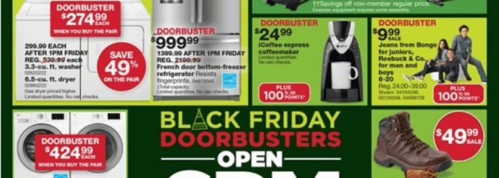 Sears Black Friday Ad 2016